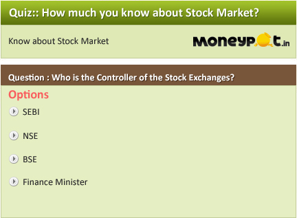 Who is the Controller of the Stock Exchanges